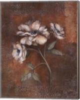 Russet Peonies II Fine Art Print