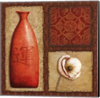 Oriental Collage I Fine Art Print