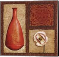 Oriental Collage II Fine Art Print