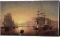 Boston Harbor, about 1850-55 Fine Art Print