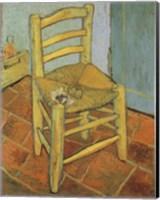 Van Gogh's Chair and Pipe, c.1888 Fine Art Print