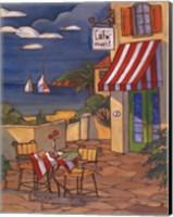 Cafe Cheri - Mini Fine Art Print
