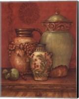 Tuscan Urns II - Mini Fine Art Print