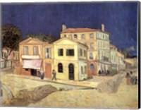 The Yellow House, Arles, c.1888 Fine Art Print
