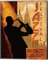 1962 Jazz in New York Fine Art Print