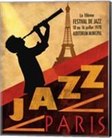 1970 Jazz in Paris Fine Art Print