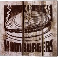 Hamburger Fine Art Print