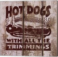 Hot Dog Fine Art Print