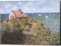 Fisherman's Cottage on the Cliffs at Varengeville, 1882 Fine Art Print