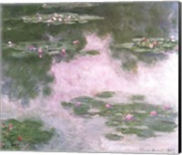 Nympheas, Water Landscape, 1907 Fine Art Print