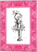 Tiny Ballerina Fine Art Print
