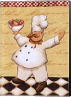 Le Chef et les Fruits - mini Fine Art Print