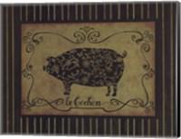 le Cochon Fine Art Print