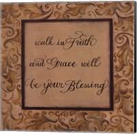 Walk in Faith Fine Art Print