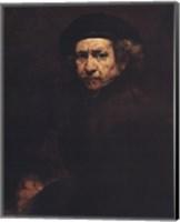 Rembrandt, Self-Portrait, c.1659 Fine Art Print