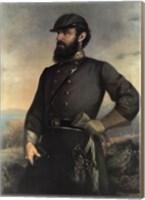 General Tj Jackson Fine Art Print
