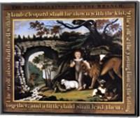 Peaceable Kingdom of the Branch Fine Art Print