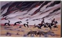 Prairie Fire Fine Art Print