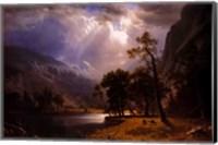 Half Dome, Yosemite Valley Fine Art Print