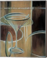 Sweet Martini Fine Art Print