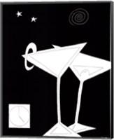 Black and White Martini II Fine Art Print