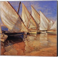 White Sails I Fine Art Print