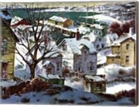 Winter Harbor Fine Art Print