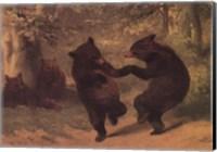 Dancing Bears Fine Art Print