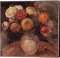 Vase of Ranunculi Fine Art Print
