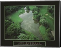Achievement - Golf Course Fine Art Print