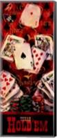 Texas Hold'em II Fine Art Print