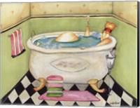 Bathing Lady II Fine Art Print