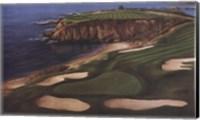 Course On The Cliffs Fine Art Print