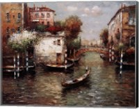 Afternoon In Venice Fine Art Print