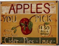 Fruit Stand IV Fine Art Print