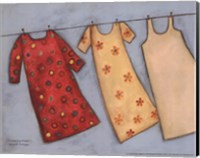Clothesline Fresh Fine Art Print