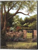 Stone Wall Fine Art Print