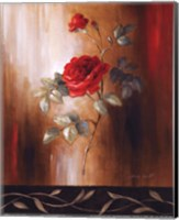 Crimson Rose II Fine Art Print