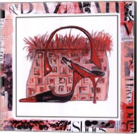 Magazine Mania Shoes II Fine Art Print
