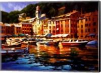 Portofino Colors Fine Art Print