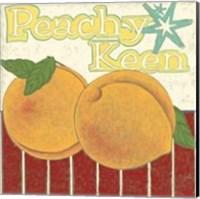 Peachy Keen (Pp) Fine Art Print