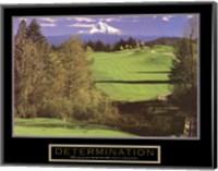 Determination – Golf Fine Art Print