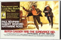 Butch Cassidy and the Sundance Kid Horizontal Fine Art Print