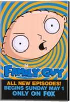 Family Guy Stewie Fine Art Print