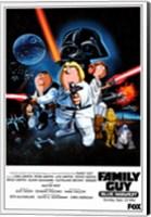 Family Guy Star Wars Fine Art Print