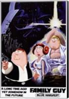 Family Guy Star Wars Jedi Fine Art Print