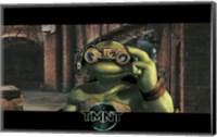 Teenage Mutant Ninja Turtles Michaelangelo Goggles Fine Art Print
