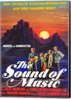 The Sound of Music Sunset Fine Art Print