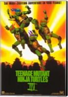 Teenage Mutant Ninja Turtles 3 Fine Art Print