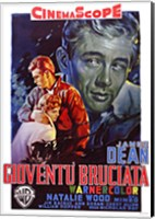 Rebel Without a Cause Film Poster Italian Fine Art Print